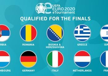 Italy in the top 10 UEFA eEuro 2020 finalists: the final phase on 23 and 24 May