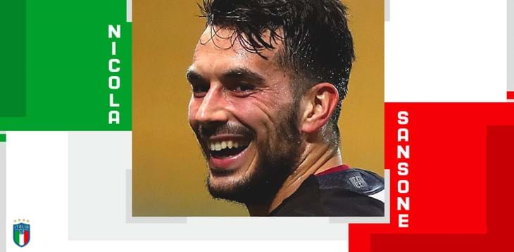 Nicola Sansone rated as best Italian player on matchday 24 by the media