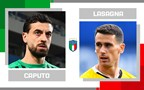 Statistical head-to-head for matchday 27 in Serie A: Francesco Caputo vs Kevin Lasagna