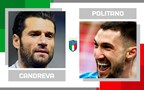Statistical head-to-head for matchday 30 in Serie A: Antonio Candreva vs. Matteo Politano