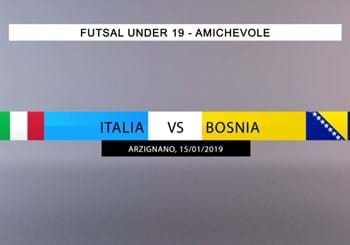 Highlights Italia-Bosnia Futsal U19 15-01-2019