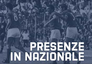 Video presenze e reti in Nazionale A
