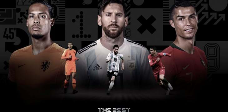 Annunciati a Milano i finalisti del 'The Best FIFA Football Awards 2019'